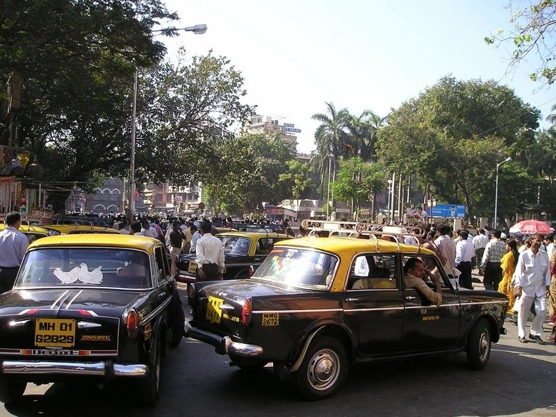 Mumbai Traffic, Photo by Jess Signet