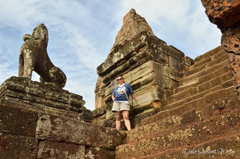 Standing tall at Pre Rup - Angkor