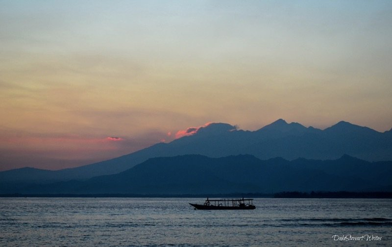Sunrise on Gili Air
