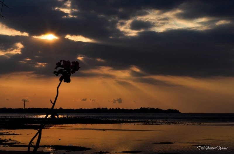 Sunset on Gili Air Chill