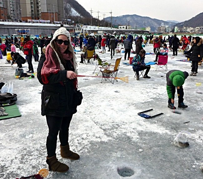 The Hwacheon Sancheoneo Winter Trout Festival by Katie McGrain
