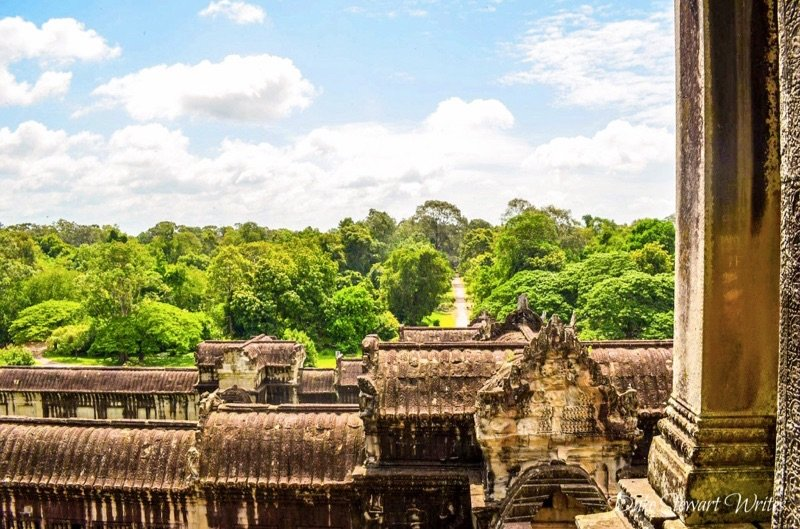 The east side of the Angkor Wat Complex