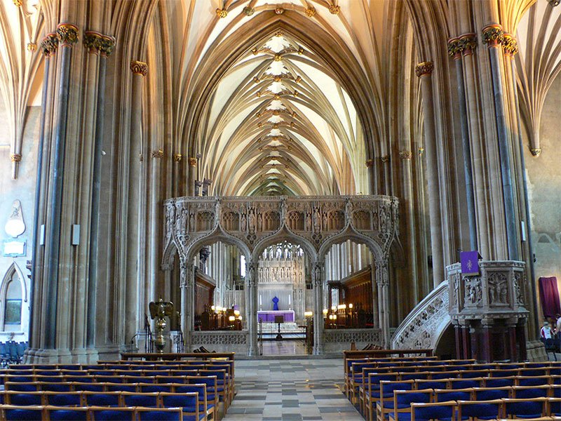 UK Where to go in February Bristol Cathedral Photo by Flickr User Heather Cowper