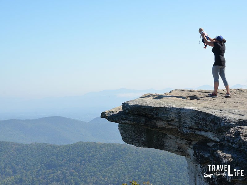 Virginia Attractions McAfee Knob