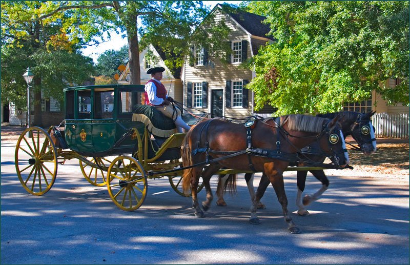 Williamsburg Va Attractions Photo by Ron Cogswell via Flickr Creative Commons