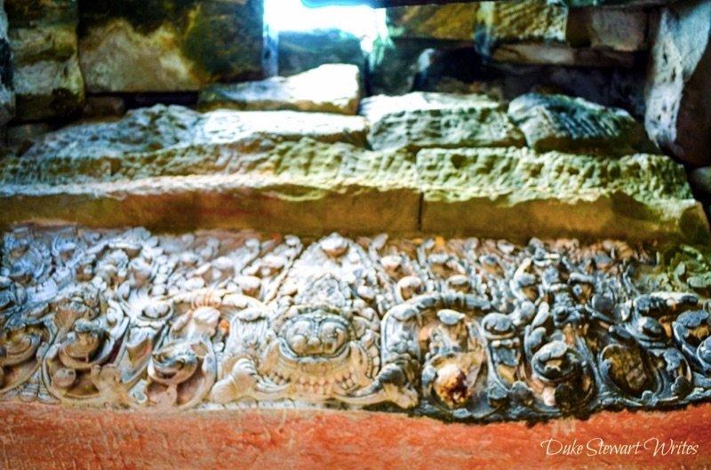 Bayon Stone Carving