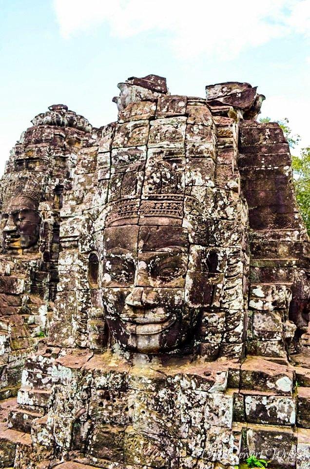 Bayon Stone Faces