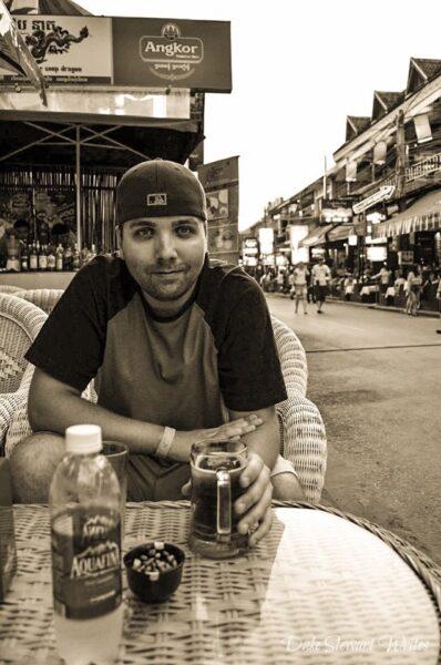 Duke Stewart on Siem Reap Pub Street