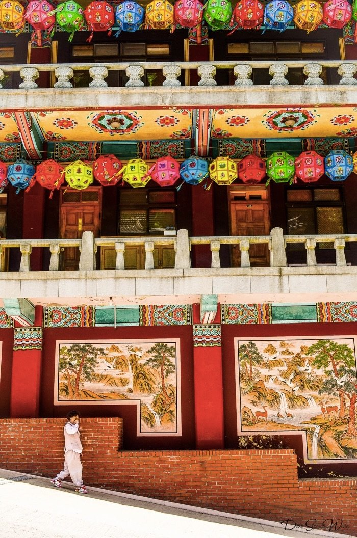 Guinsa Temple in South Korea during Buddhas Birthday
