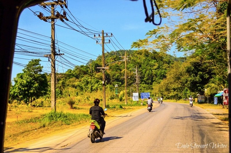 Koh Chang Thailand Roads