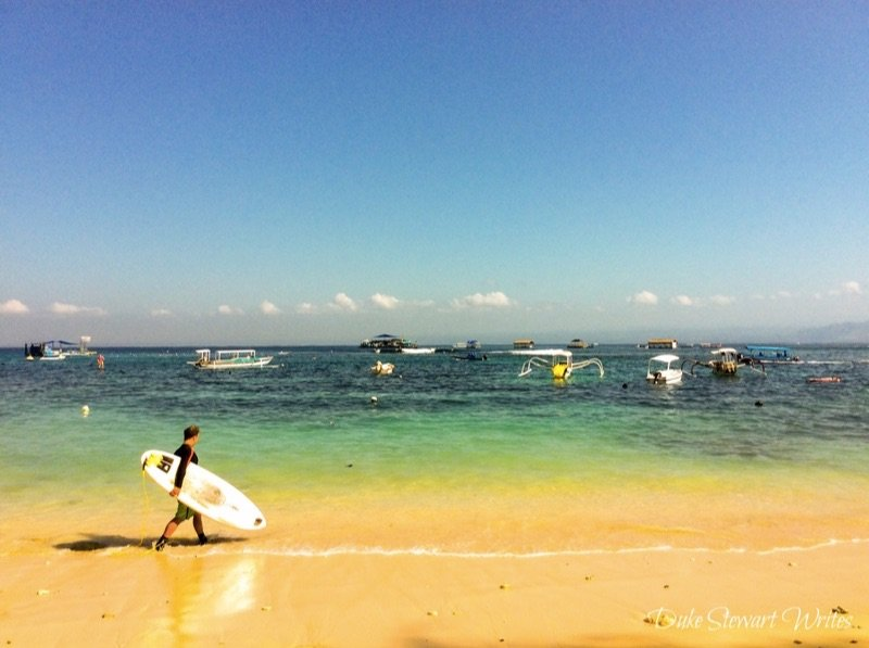 Nusa Lembongan Surfer