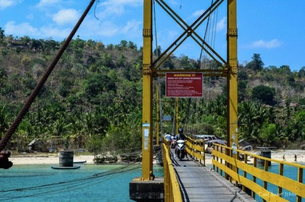 Nusa Lembongan Suspension Bridge