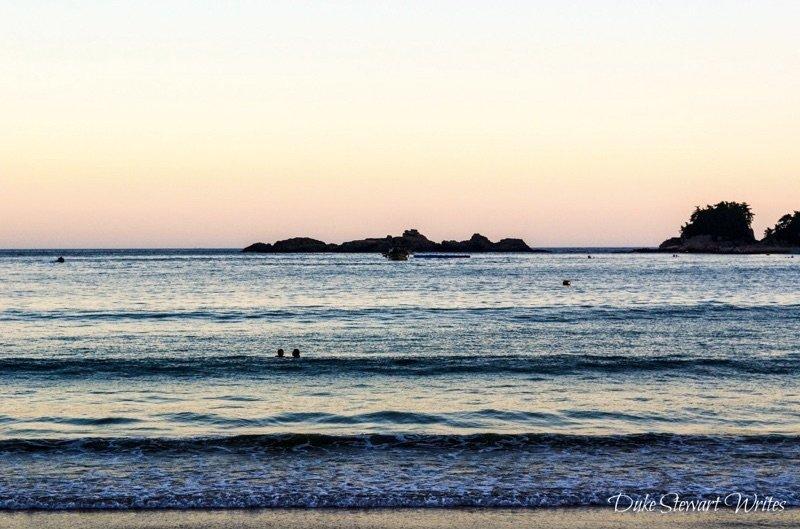 Sangju Beach in Namhae South Korea
