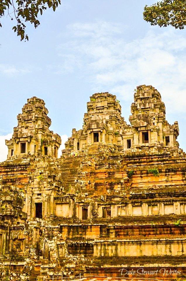 Ta Keo near Angkor in Cambodia