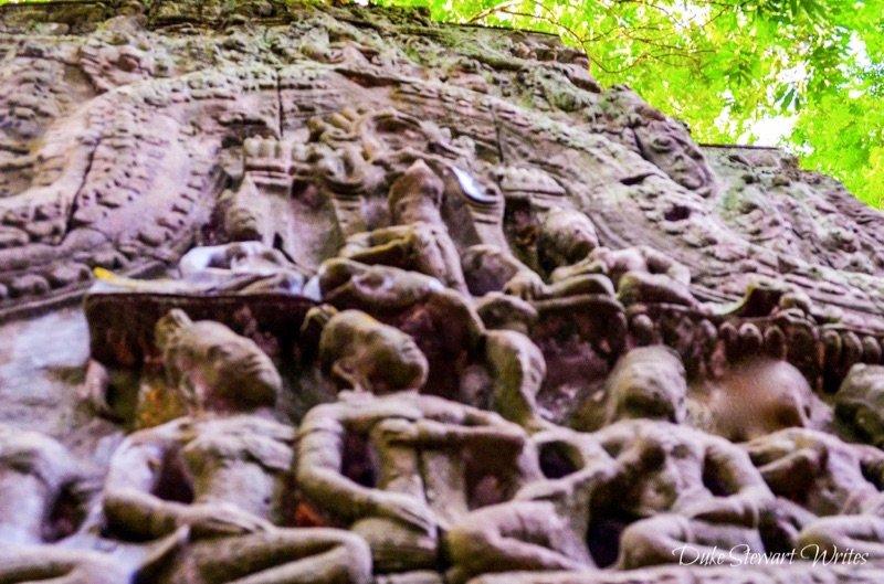 Ta Prohm stone carving