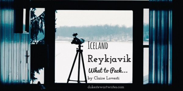 What to Pack for a Reykyavik Trip by Claire Lovesti