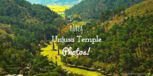 Hwasun Unjusa Temple Photos Korea