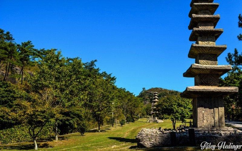Hwasun Unjusa Temple Stone Pagodas South Korea
