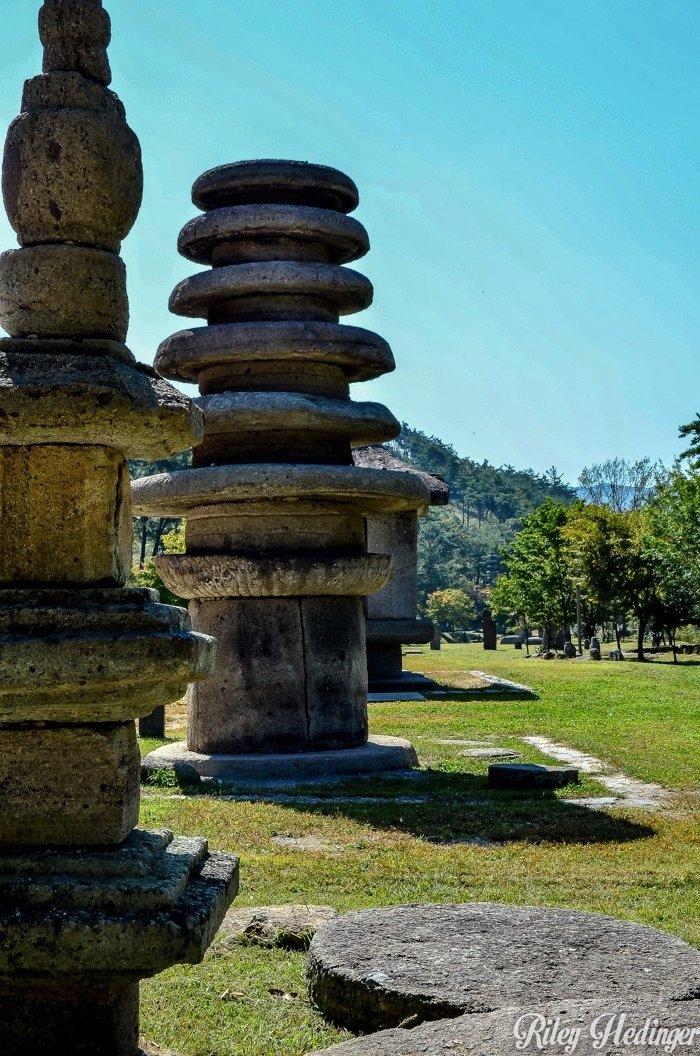 Hwasun Unjusa Temple Stone Pagodas