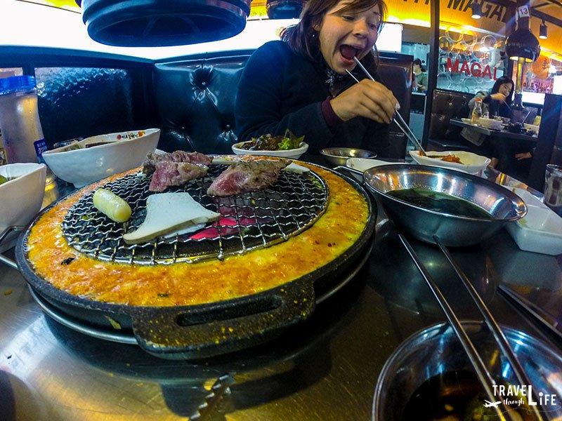 I Love Korean Food Barbecue Pork Belly