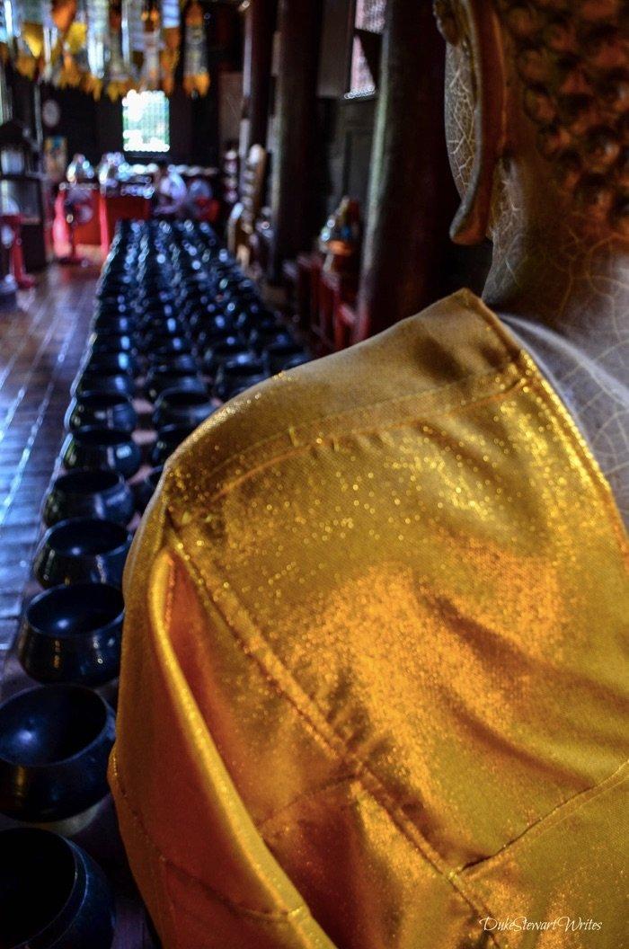 Inside Chiang Mai Temple