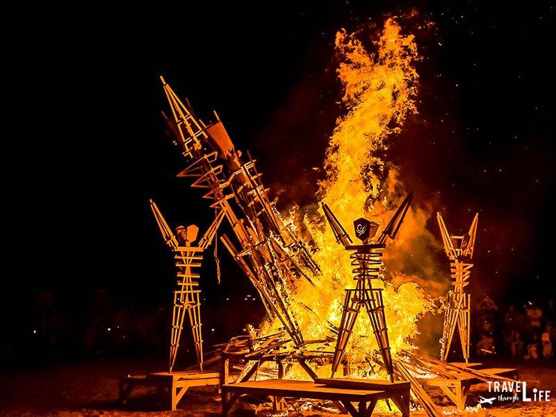 Korea Burn Burning Man Tribute