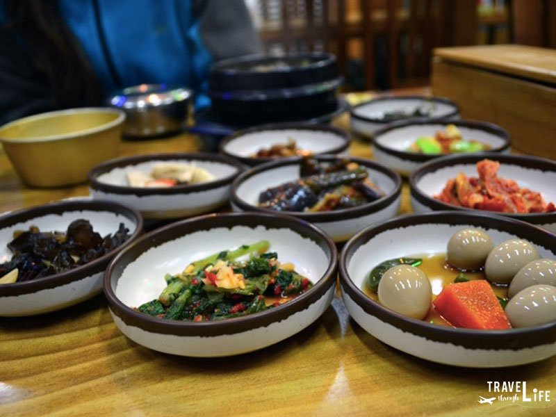 Korean Food Ban Chan Side Dishes