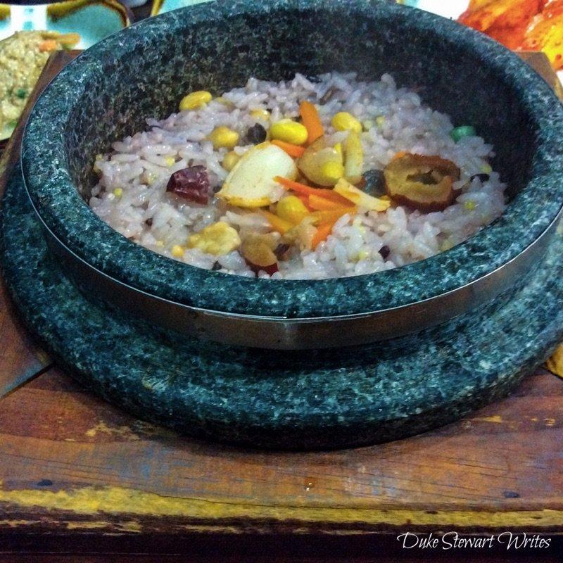 Korean Food Dolsot Bap