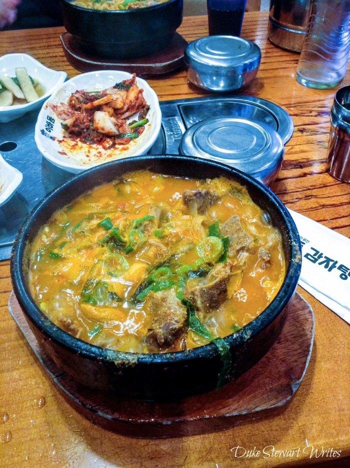 Korean Food Gamjatang