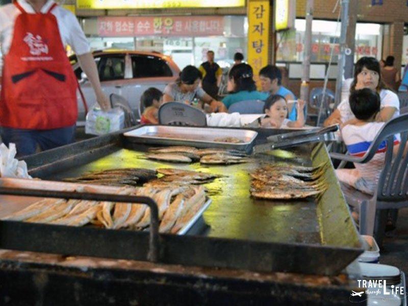Korean Food Shad Festival in Samcheonpo