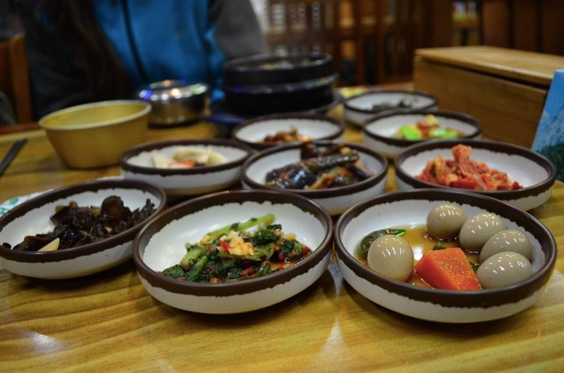 Korean Food Side Dishes
