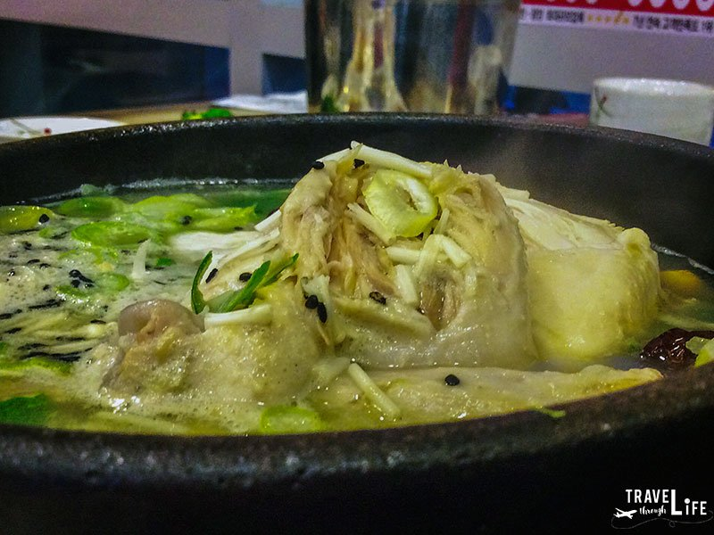 Korean Food Story Samgyetang Chicken Soup