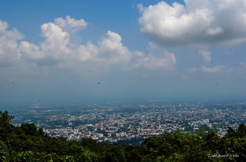 Overlooking Chiang Mai Thailand