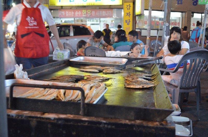 Shad Festival in Samcheonpo Korea