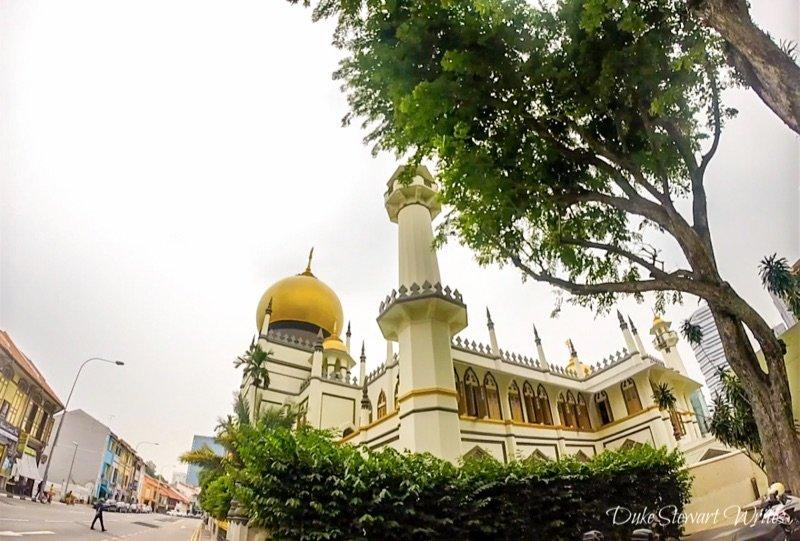 Singapore Arab Street Mosque