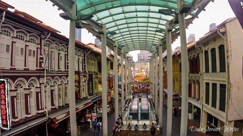 Singapore Chinatown Shops