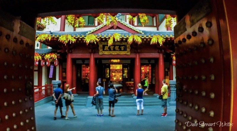 Singapore Chinatown Temple