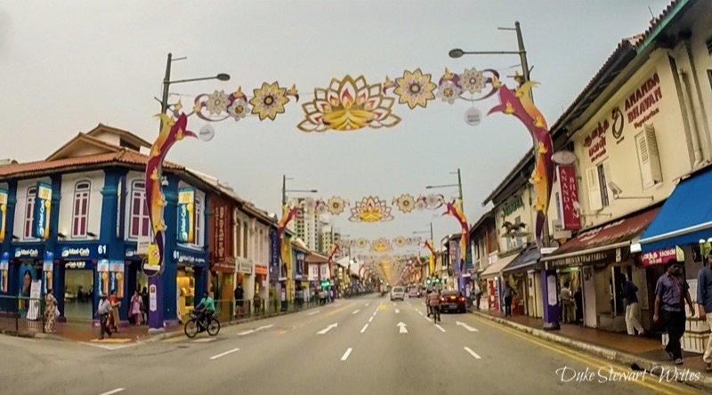 Singapore Little India Street