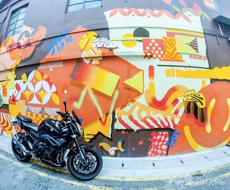 Singapore Little Persia Street Art