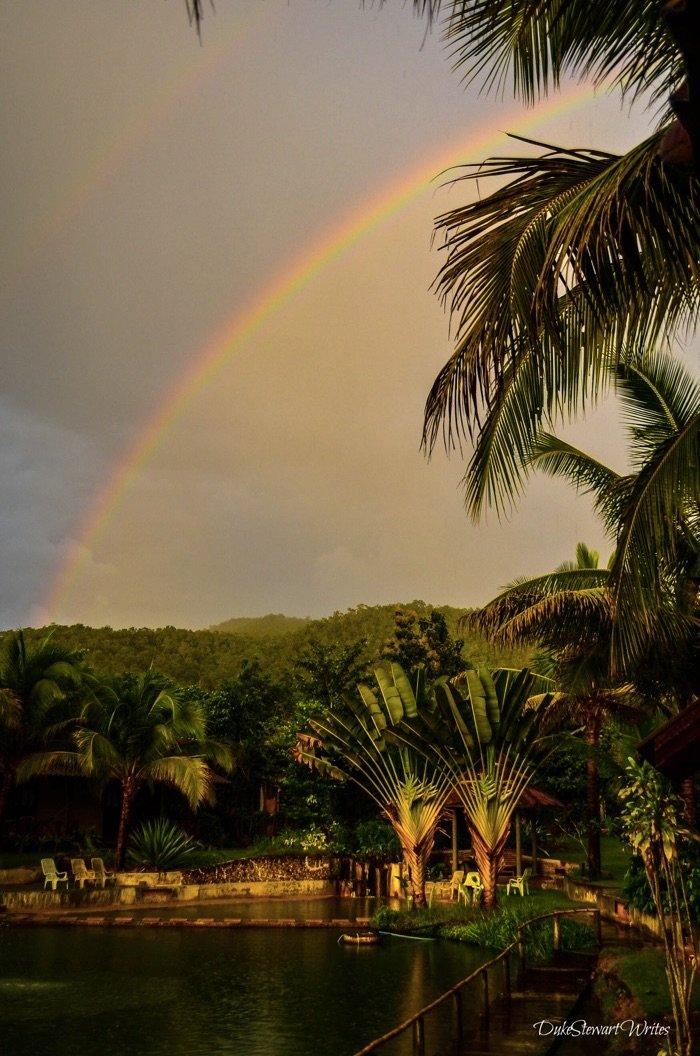 Double Rainbow over Thailand Pairadise