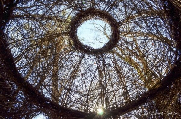 Hillsborough North Carolina Stickwork by Patrick Dougherty