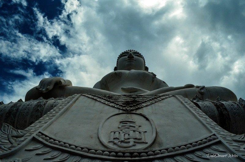 Thailand Pai Wat Phra That Mae Yen White Buddha