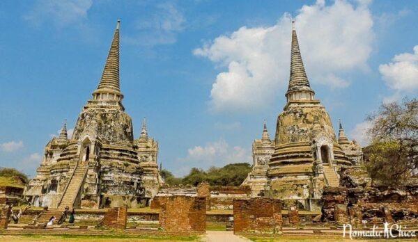 Ayutthaya Wat Pra Si Sinphet Photo by Gloria from Nomadic Chica