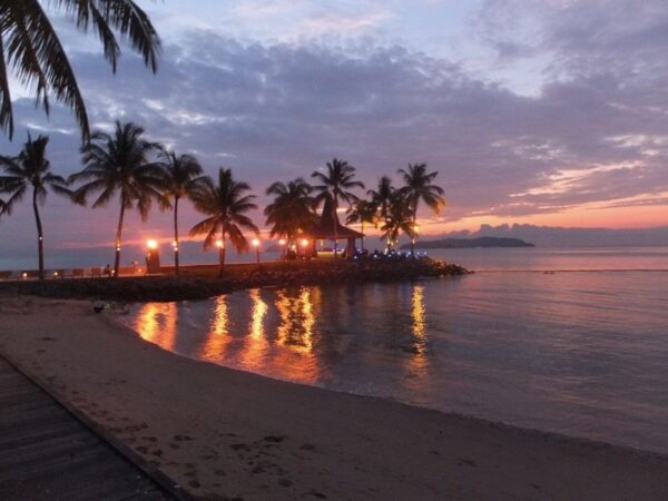 Beautiful Kota Kinabalu Sunset Photo by Sally from Our3kidsvtheworld
