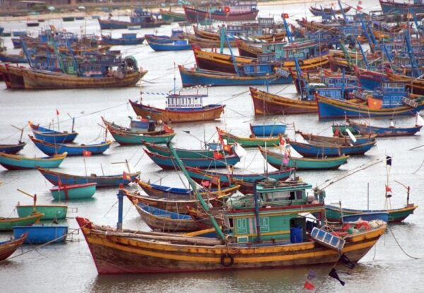 Fishing Boats at Mui Ne, Vietnam Photo by Suzanne Jones from Travel Bunny