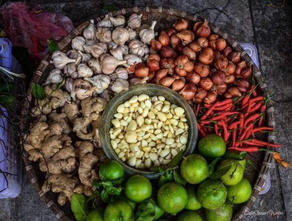 Hanoi Vietnamese Food Ingredients