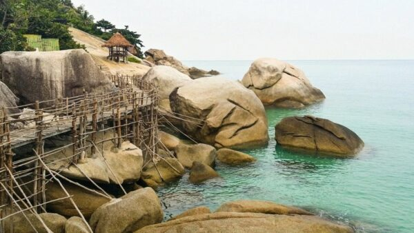 Koh Phangan Secret Beach Photo by Sarah from Live Dream Discover