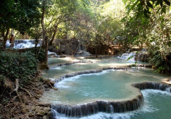 Kuang Si Falls Laos Photo by Jon Algie