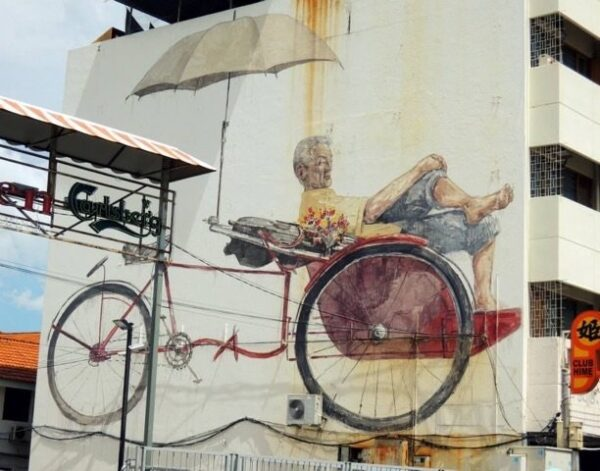 Malaysia Penang Georgetown Mural Photo by Miss Happyfeet