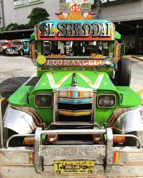 Manila Jeepney Photo by Dishourtown
